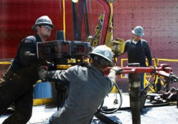 Gas Drilling Tests